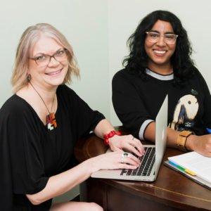 Karen Korn and Audra Sparks Leaf Medic
